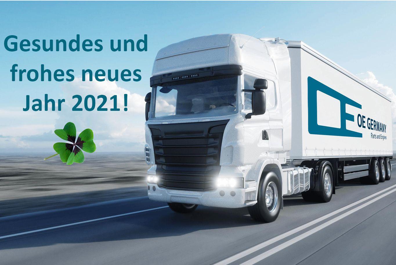 Gesundes und frohes neues Jahr 2021!