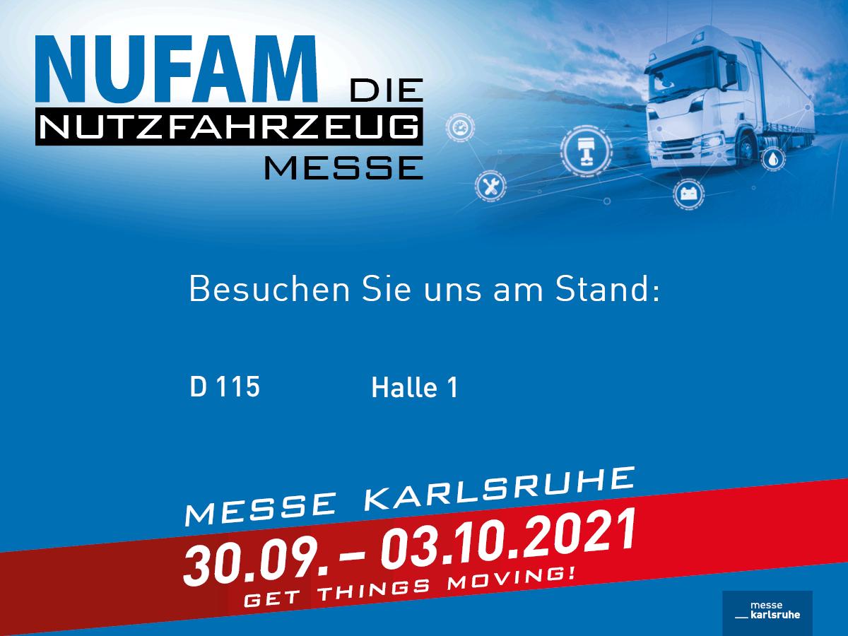 Commercial Vehicle Fair NUFAM 2021 in Karlsruhe